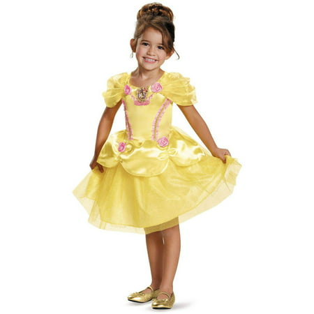 Beauty and the Beast Belle Classic Child Halloween Costume - Belle And The Beast Halloween Costumes