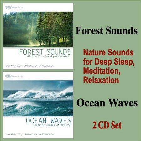 Forest Sounds & Ocean Waves: Nature