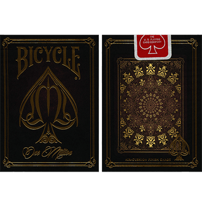 Bicycle One Million Deck (Red) by Elite Playing Cards by