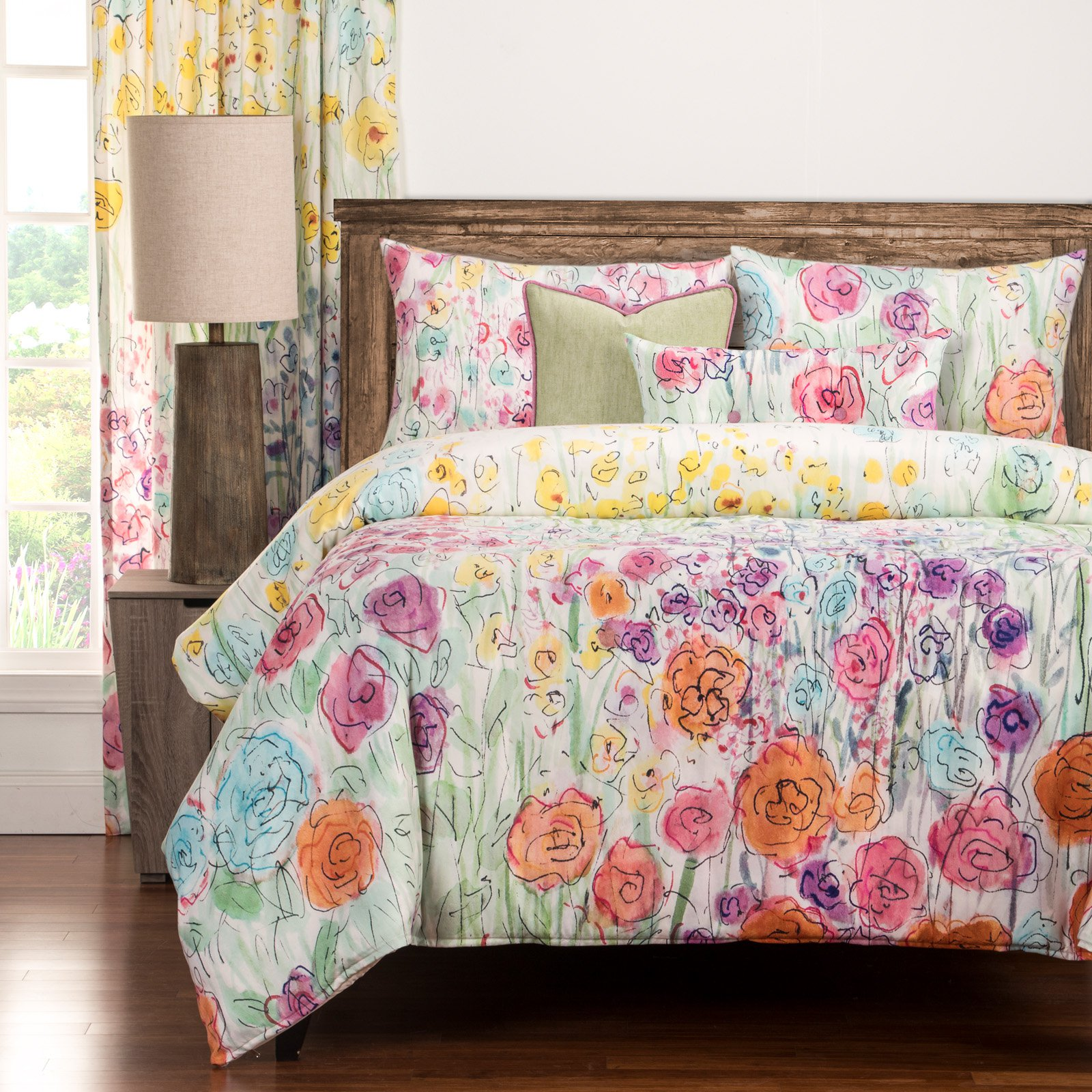 Whimsical Wildflower Duvet Set by Siscovers