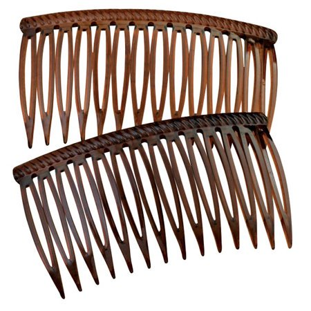 Shell Grip Tuth Hair Combs set of 2 by Good Hair Days 2 3/4