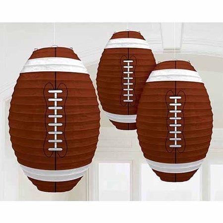 Printable Football Decorations (Football Lanterns)