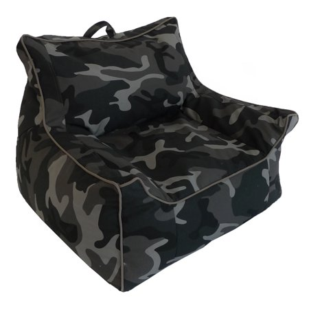 Large Structured Bean Bag Chair, Muliple Colors