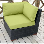 Bellini Home and Gardens UNW77173B1054 Christopher Deep Seating Corner Sectional Set, Pale Green