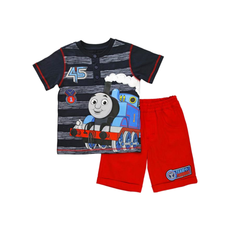 Thomas & Friends Infant & Toddler Boys Thomas the Train Baby Outfit Henley Shirt