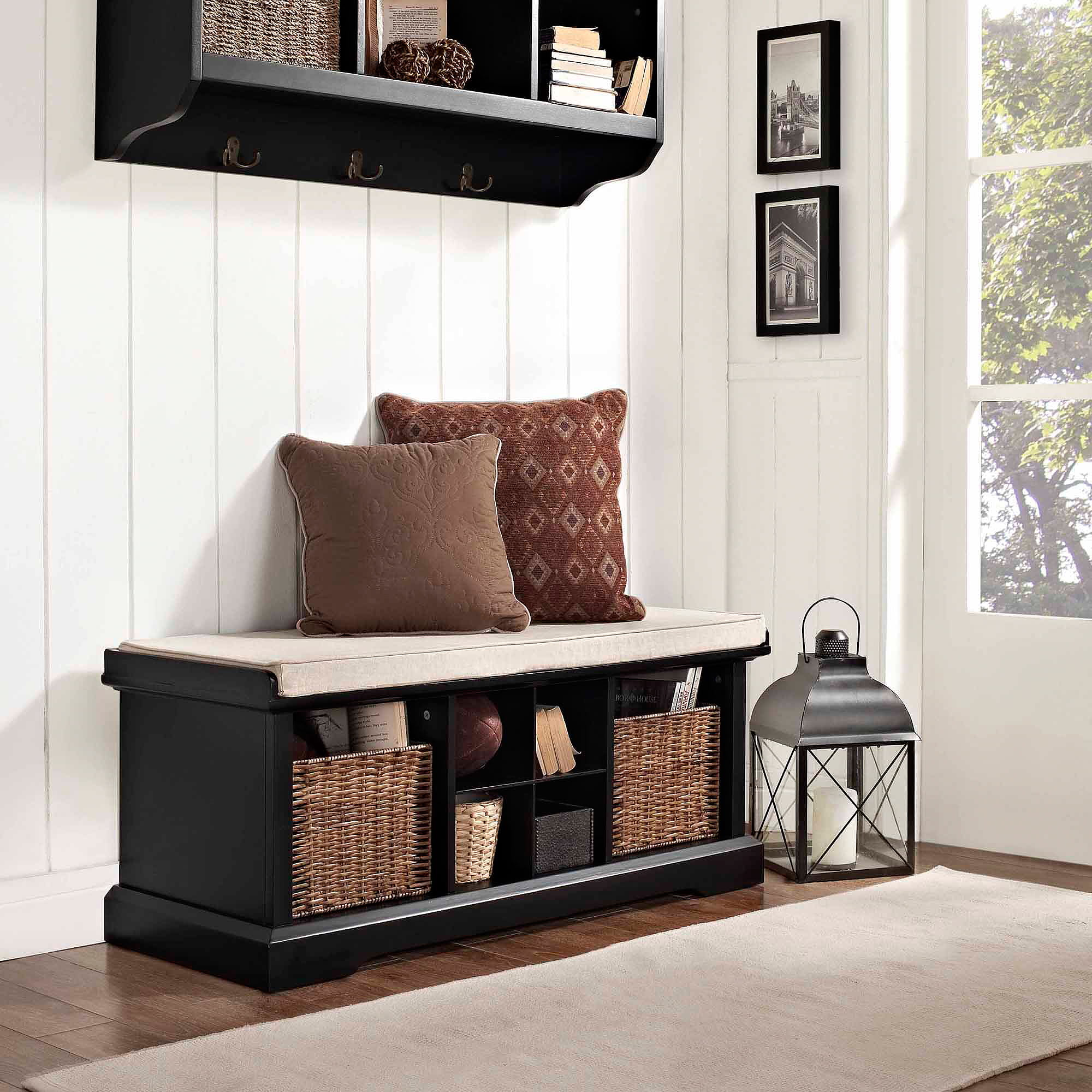 Entry Storage Furniture crosley furniture brennan entryway storage bench, multiple colors