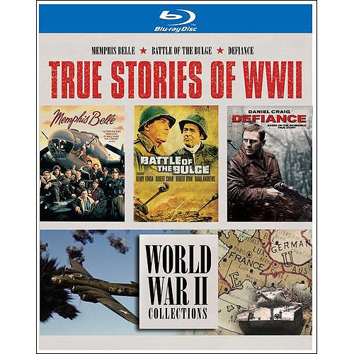 True Stories Of WWII: Battle Of The Bulge / Defiance / Memphis Belle (Blu-ray) (Widescreen)