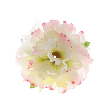 Flower Heads Wedding Table - KABOER 3 Pcs Artificial Flower Heads Peony Silk Fake Flower Heads Wedding Living Room Table Home Party Garden Decoration