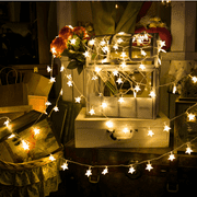 Star String Lights Led Le 40 Indoor Fairy Warm White For Patio