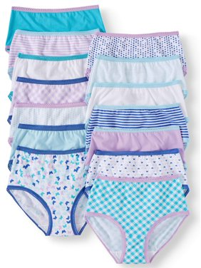 1a007582f926 Product Image Wonder Nation Girls 100% Cotton Brief Panty, 14 pack