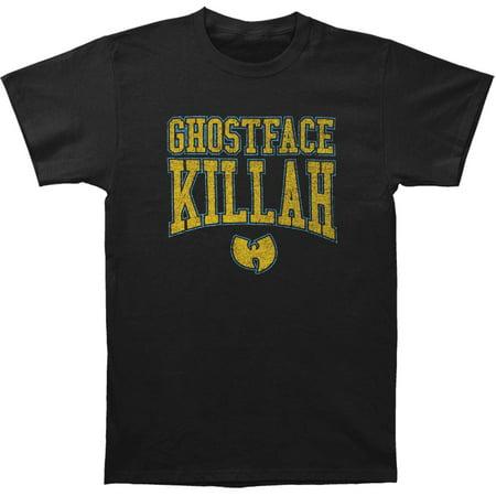 Ghostface Killah Men's  Gold Logo Slim Fit T-shirt