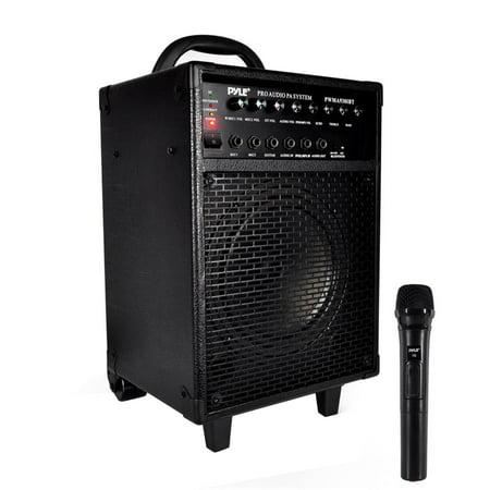 Portable Bt Pa Speaker System Built In Battery