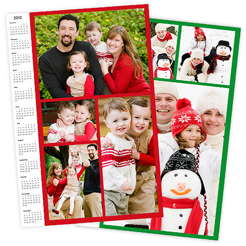 16x20 Calendar Collage Poster, Matte Photo Paper