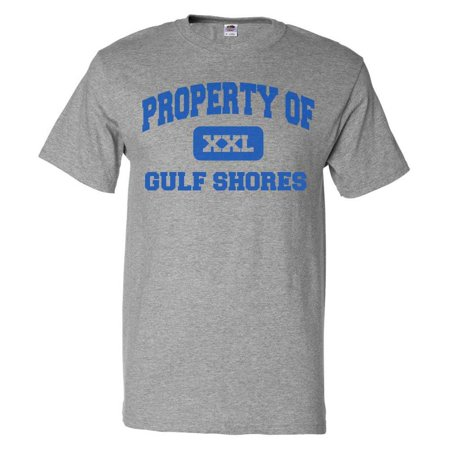 Property of Gulf Shores T shirt Funny Tee Gift](Funny Jersey Shore)