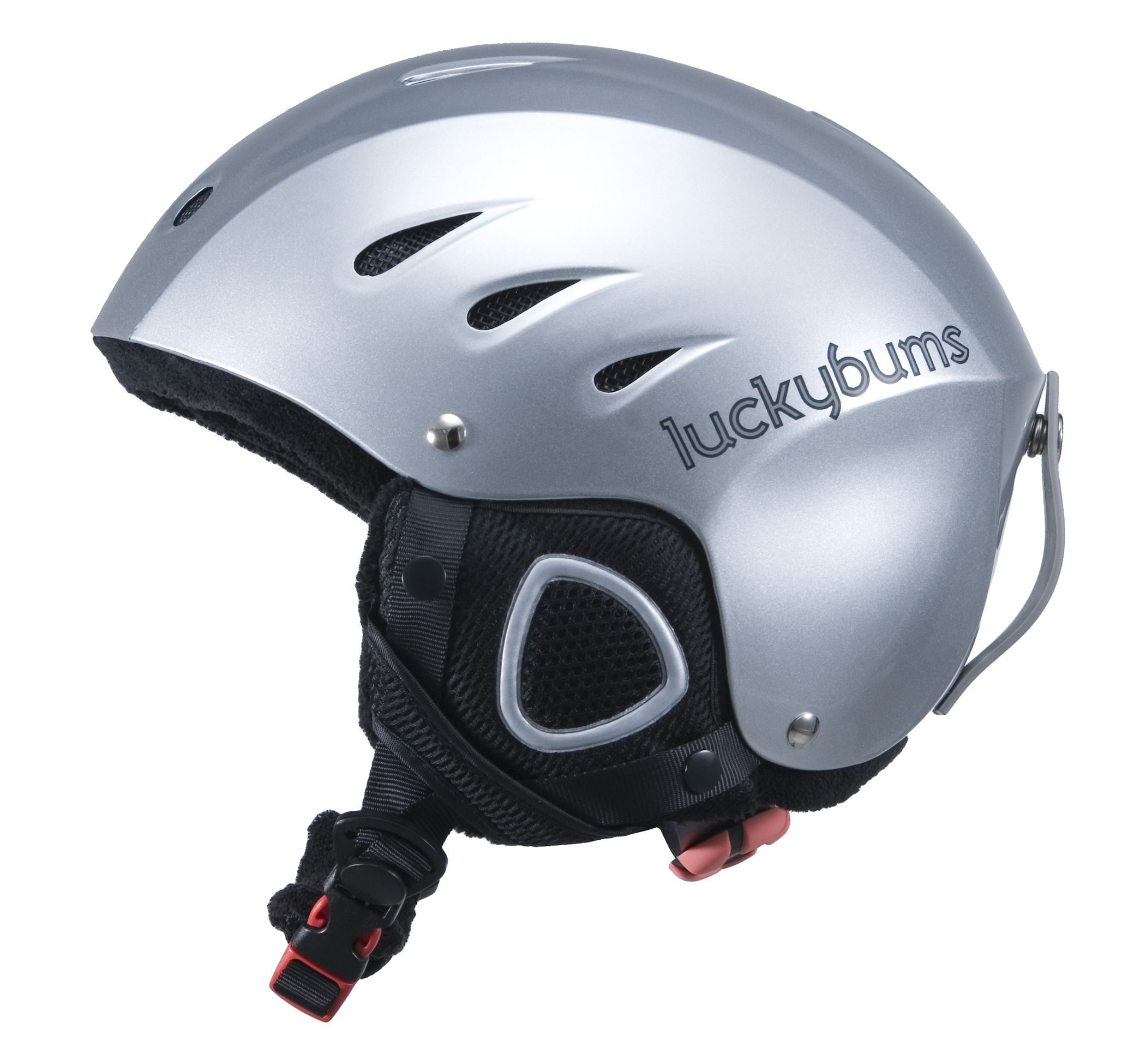Lucky Bums Snow Sport Helmet, Silver, Large by Lucky Bums