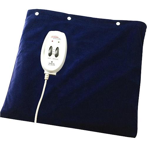 Sunbeam Heat Plus Massage Heating Pad, 000730-811-000