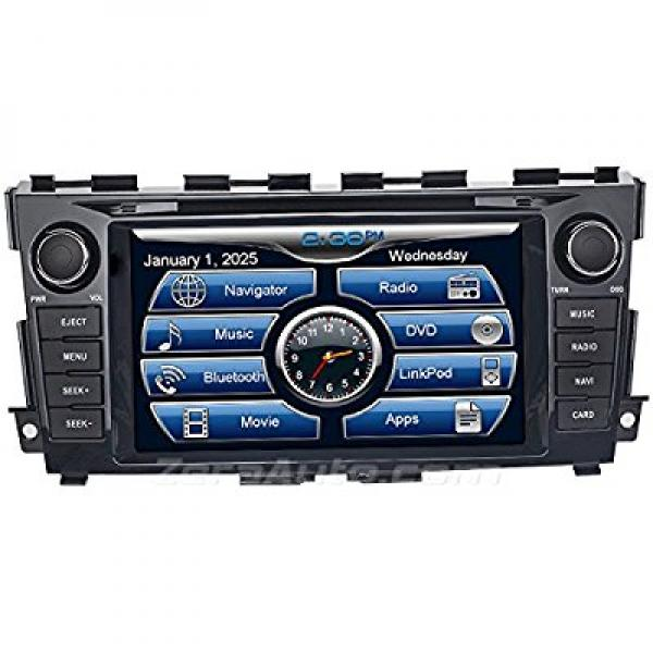 2013 2014 2015 Nissan Altima In-Dash Navigation Stereo DV...