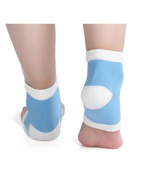 e580a8ef1 Product Image Yosoo Gel Spa Heel Socks Moisturising Pedicure Foot Care Open  Toe Socks Heel Protection