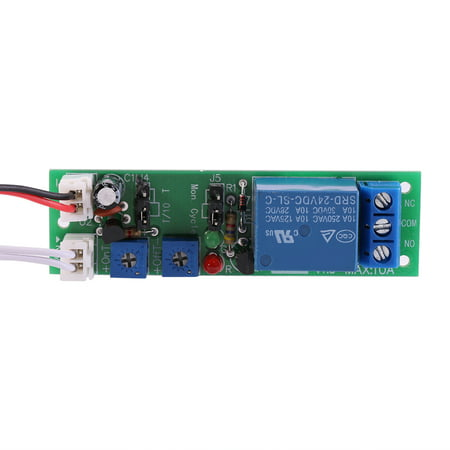 (Yosoo DC 5V 12V 24V Adjustable Cycle Timer Delay On/Off Switch Relay Module, Delay On/Off Switch Module,Timer Module)