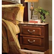 Standard Furniture Triomphe 25 Inch Nightstand in Zinfandale Cherry