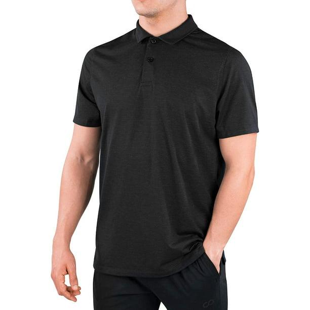 Contour Athletics HydraVent Men's Polo Shirts - Quick Dry Athletic Short Sleeve Polo Shirt for Men