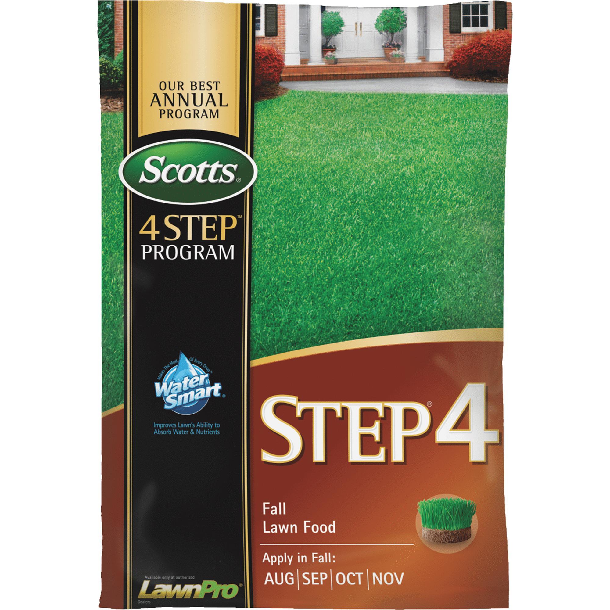 scotts 4-step program step 4 fall lawn fertilizer - walmart