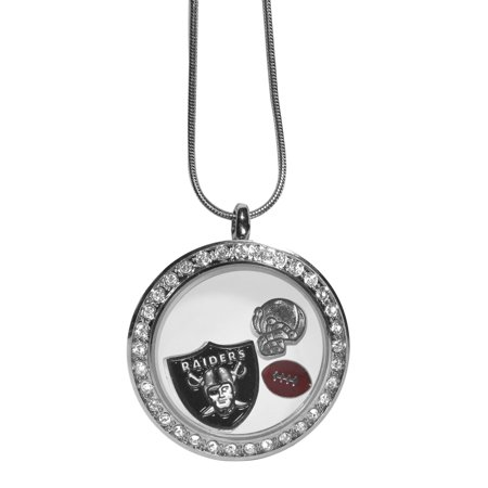 Oakland Raiders Locket - Raiders Necklace