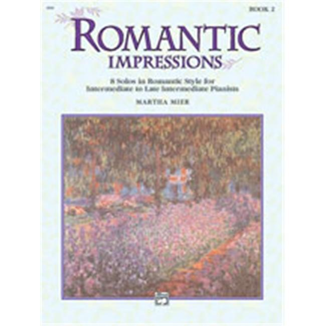Alfred 00-6689 Romantic Impressions- Book 2 - Music Book
