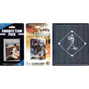 C&I Collectables MLB San Francisco Giants Licensed 2016 Topps Team Set and Favorite Player Trading Cards Plus Storage Album