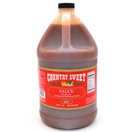 Country Sweet - Premium Cooking and Finishing Sauce (Hot, 1 Gallon/128 ounces)