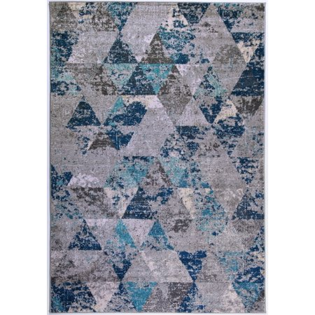 Ladole Rugs Soft Boston Collection Comtemporary Geometric