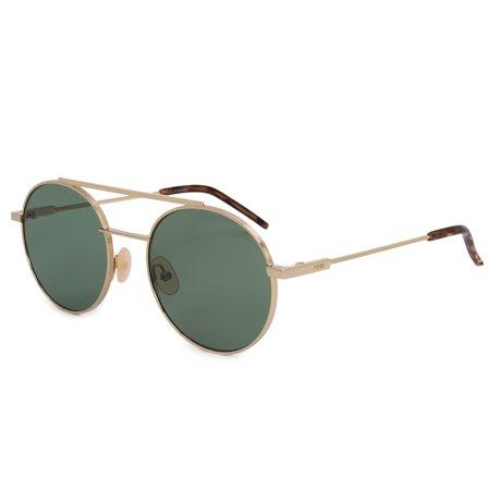 c395e6184a1 Fendi - Sunglasses Fendi 221  S 0J5G Gold   QT green lens - Walmart.com