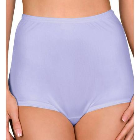 c8c19ff23cd Shadowline - Women s Shadowline 17032 Hidden Elastic Nylon Classic Brief  Panty - Walmart.com