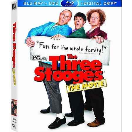 Ray Single (The Three Stooges - The Movie (Blu-Ray / Single Disc) )