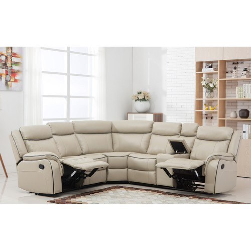 Ebern Designs Gloucester Classic Reclining Sectional