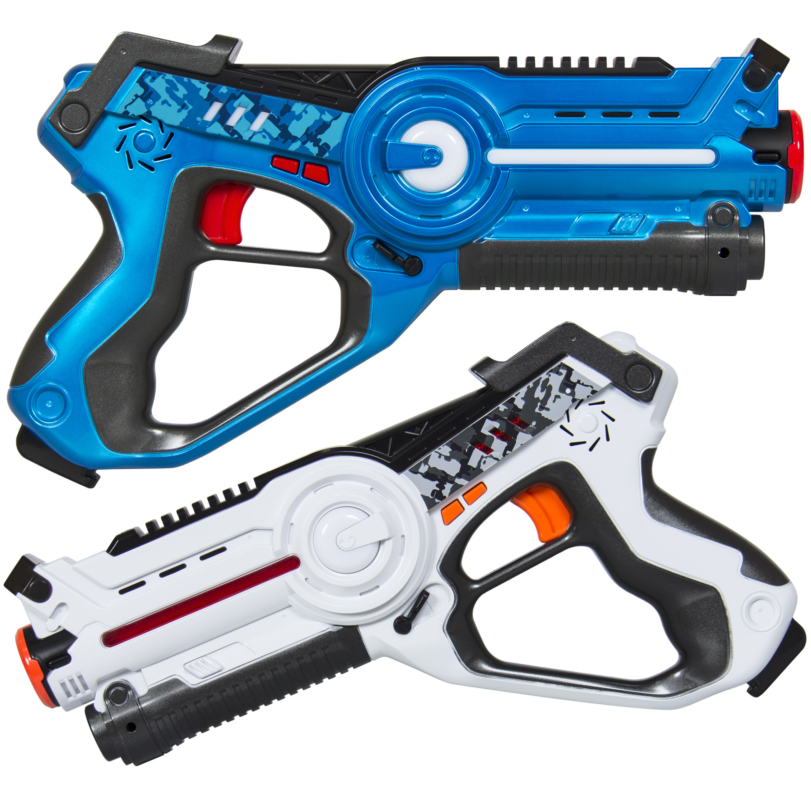best choice products laser tag set for kids w multiplayer