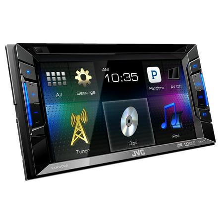 "Audiovox AVXMTG9BA 9"" LED Overhead monitor w  2 wireless IR Headphones by"