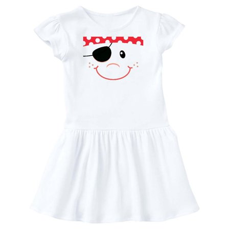 Funny Pirate Face Costume Idea Toddler Dress