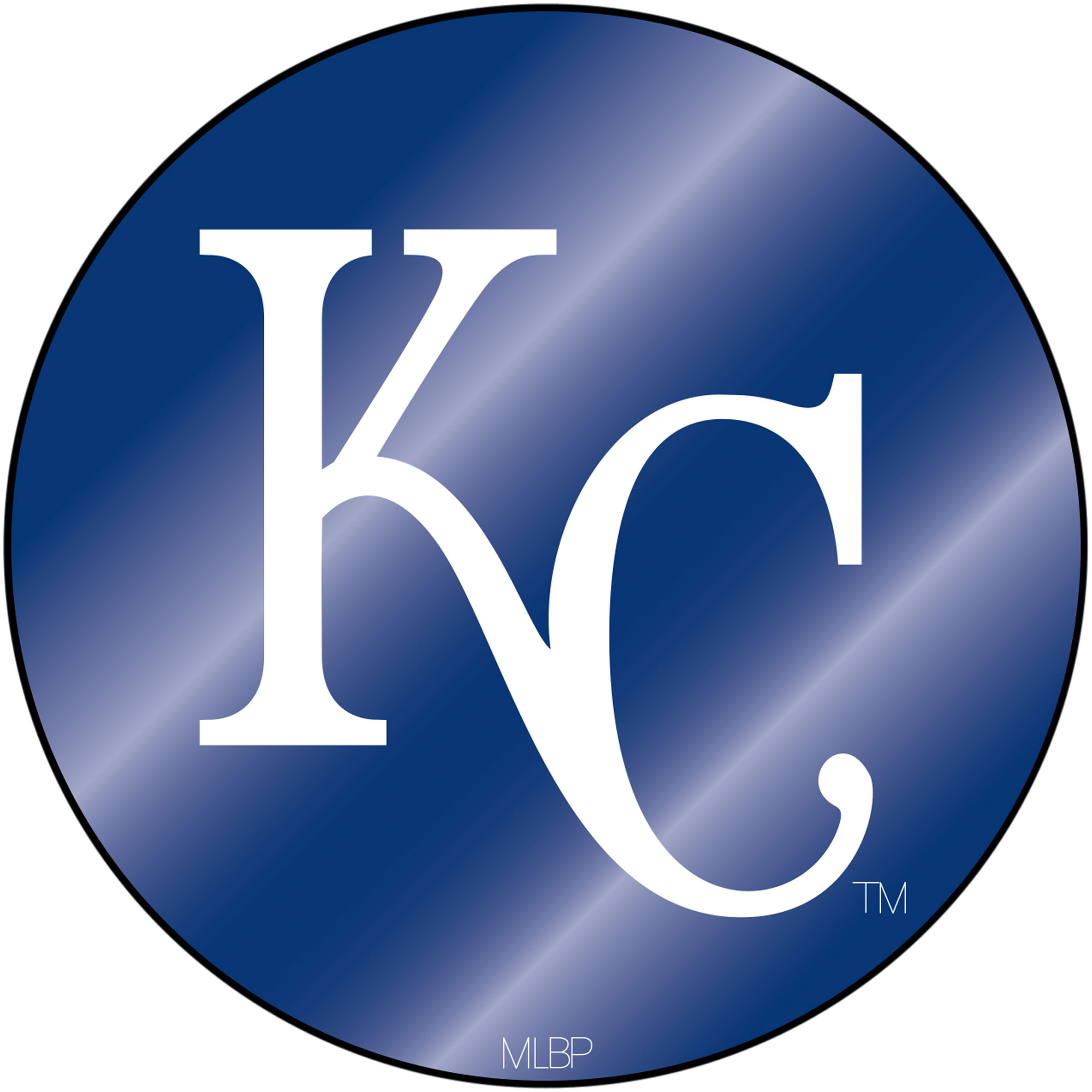 Kansas City Royals Sparo Laser Discus Decal - No Size