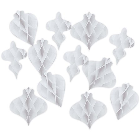 Heidi Swapp Oh What Fun Garland Honeycomb Shapes 13/Pkg-Ornaments - Shape Of A Honeycomb