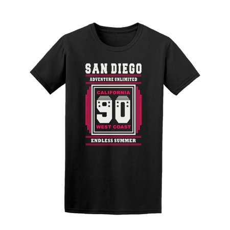 San Diego Adventure Unlimited Ca Tee Men's -Image by (744 Market St San Diego Ca 92101)