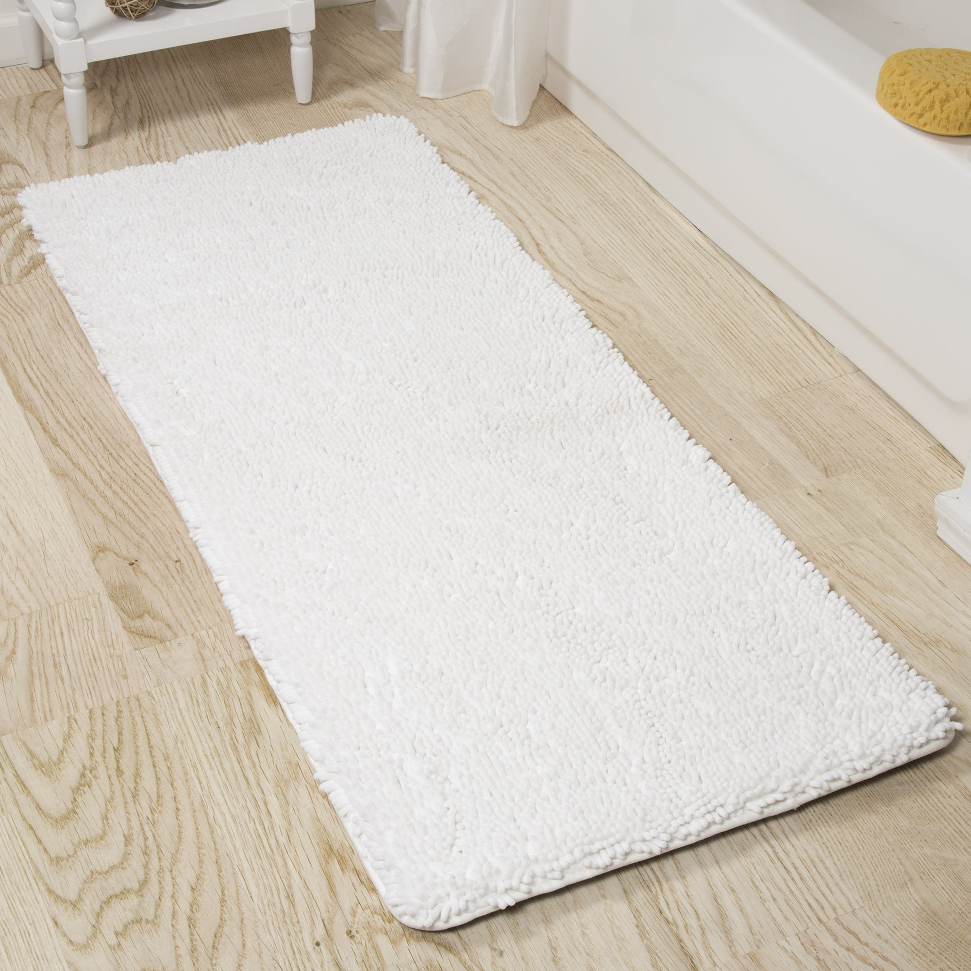 Gray Memory Foam Bath Mat