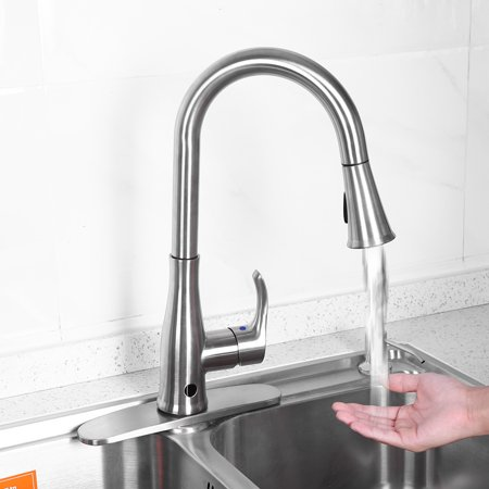 Lv. life 9/16  Single-Handle Touch Kitchen Sink Faucet with Pull Down Sprayer with Holder,Single-Handle Faucet, Sink Faucet with - Fusion Kitchen Sprayer