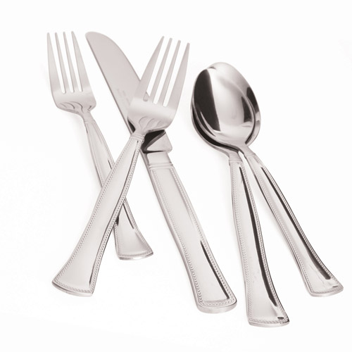 David Tutera Lexington 45-Piece Flatware Set