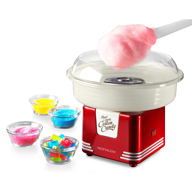 Nostalgia Retro Hard /& Sugar-Free Candy Cotton Candy Maker