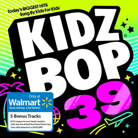 Kidz Bop 39 (Walmart Exclusive) - Children's Halloween Music Cd