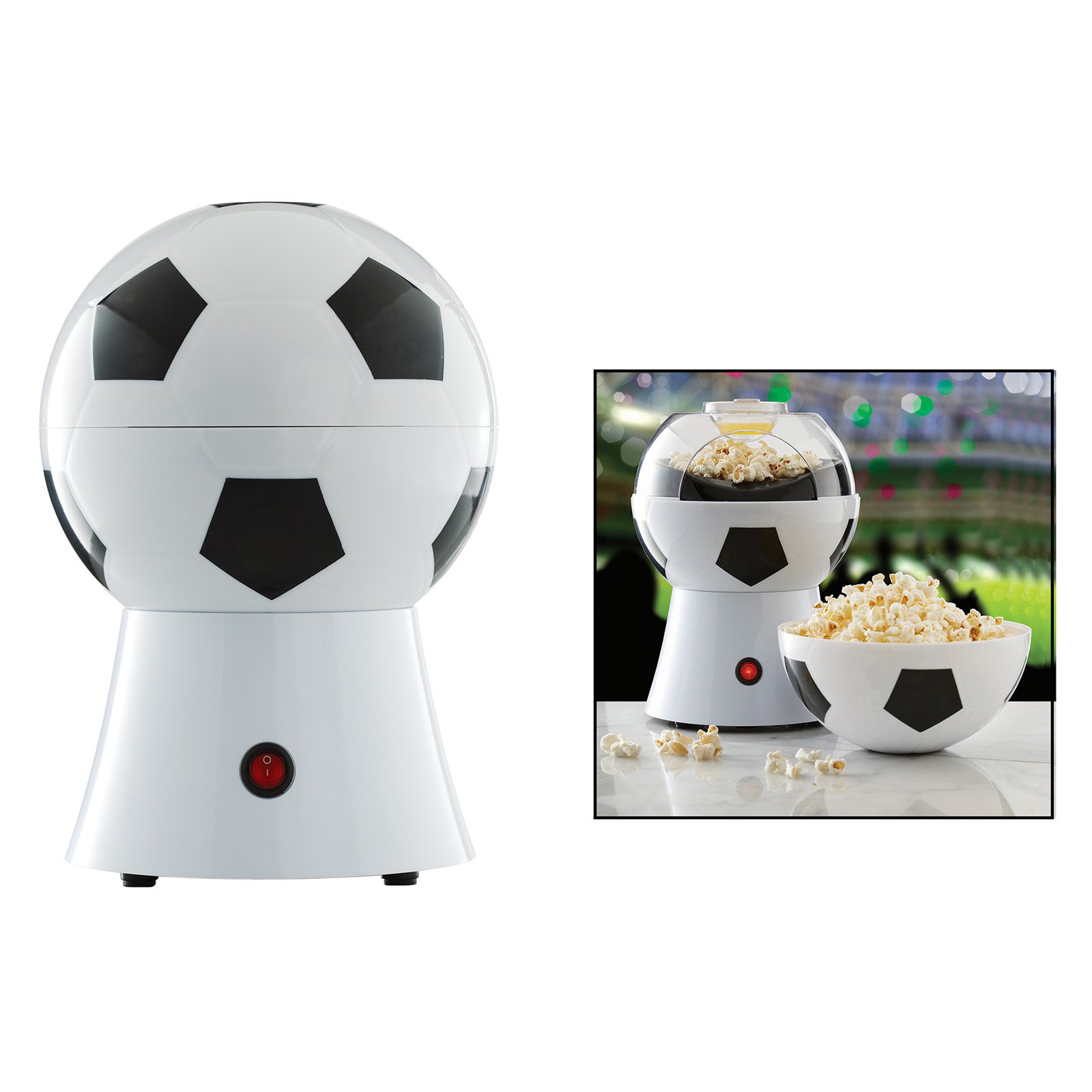 Brentwood Appliances Hot Air Soccer Ball Popcorn Popper