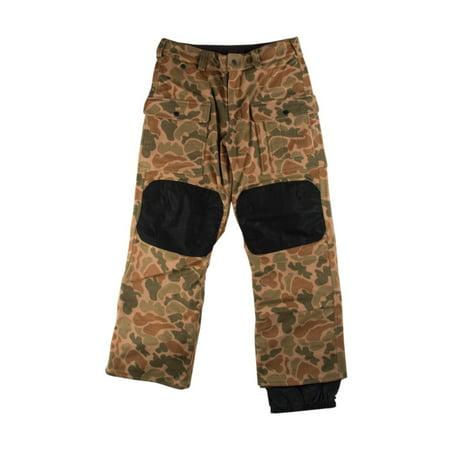"Burton Mens Heritage Field Pant ""Wool Camo"" Black/Camo"