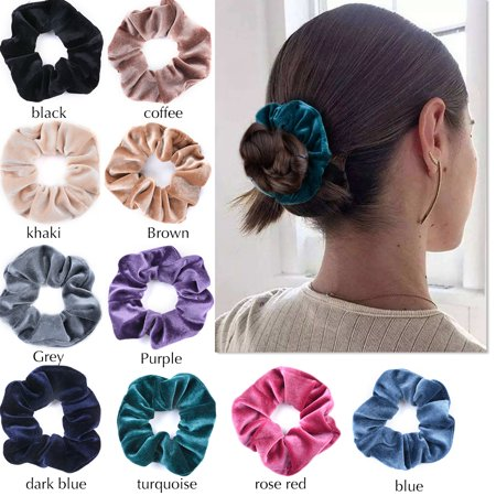 10Pcs Hair Scrunchies Set 93a8f56857c