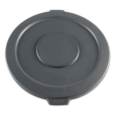 Boardwalk 32GTLWRLIDG Lids For 32 Gallon Waste Receptacle, Flat-Top (Flat Ash Top Receptacle)